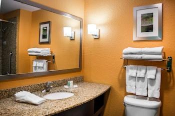 Comfort Suites At Fairgrounds-Casino - Bathroom  - #0