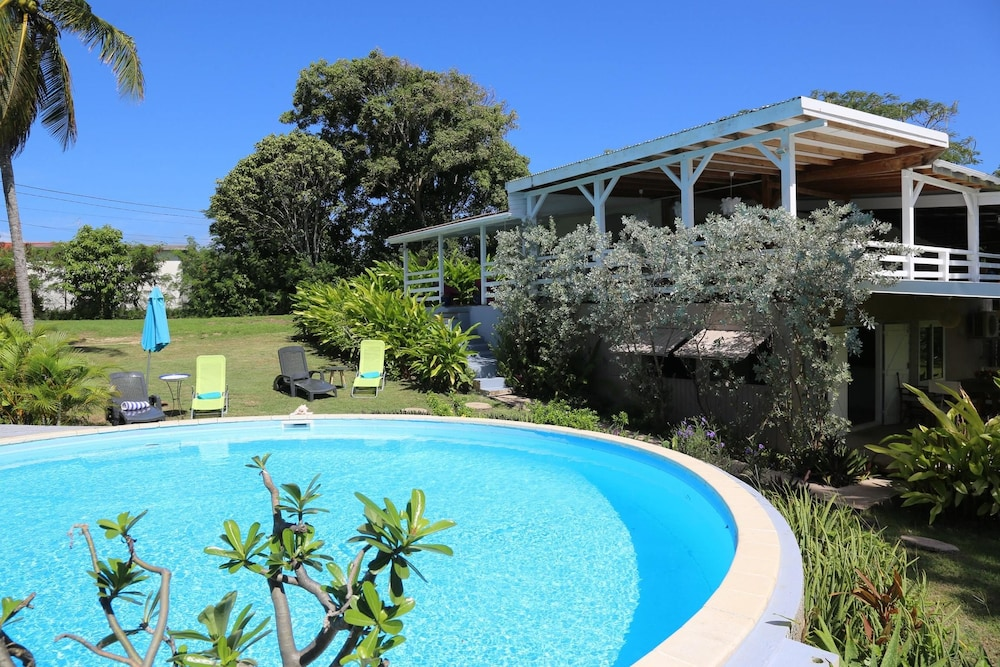 Villa With 3 Bedrooms in Saint François, With Private Pool, Furnished