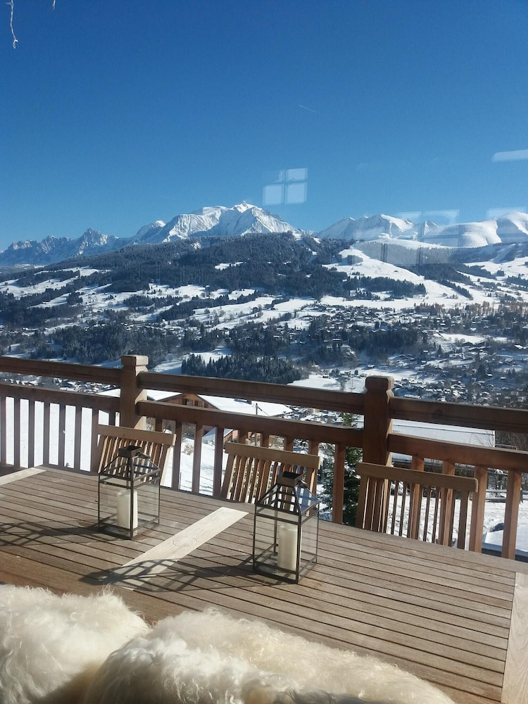Apartment With one Bedroom in Megève, With Wonderful Mountain View and