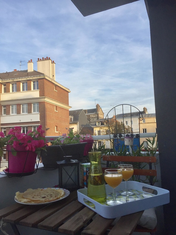 Apartment With one Bedroom in Rouen, With Wonderful City View, Furnish