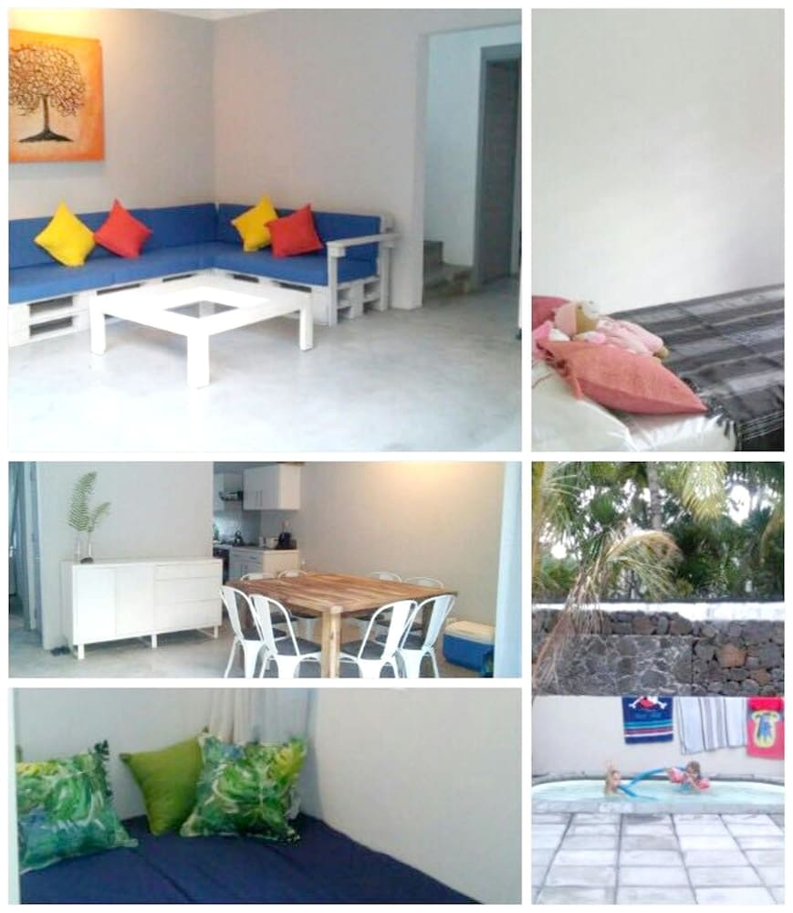 Villa With 3 Bedrooms in Quatre Cocos, With Private Pool, Terrace and