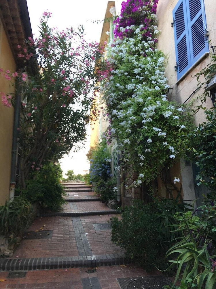 Studio in Antibes, With Furnished Terrace and Wifi - 500 m From the Be