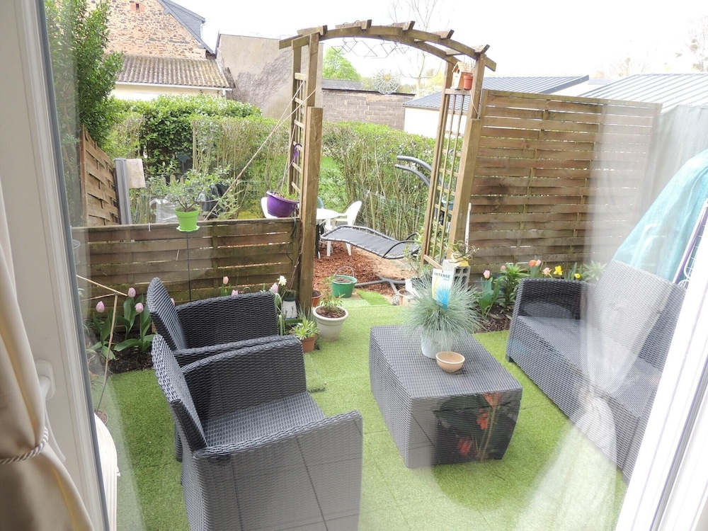 Apartment With 3 Bedrooms in Le Mans, With Enclosed Garden and Wifi