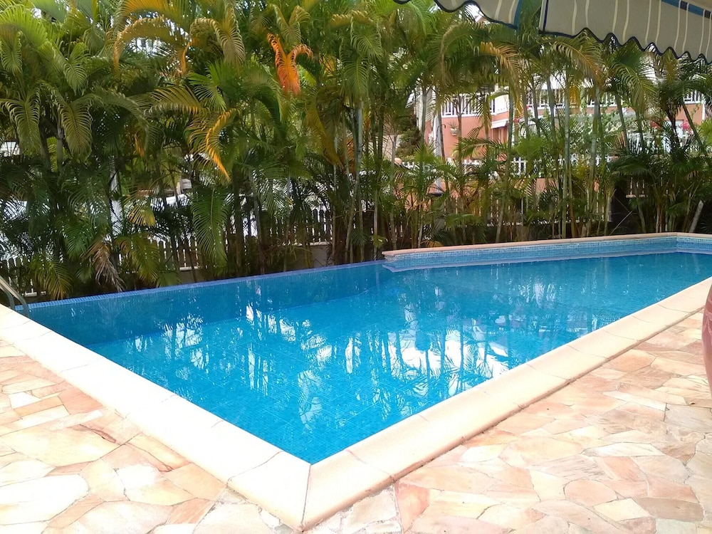 Bungalow With one Bedroom in Le Gosier, With Pool Access, Enclosed Gar