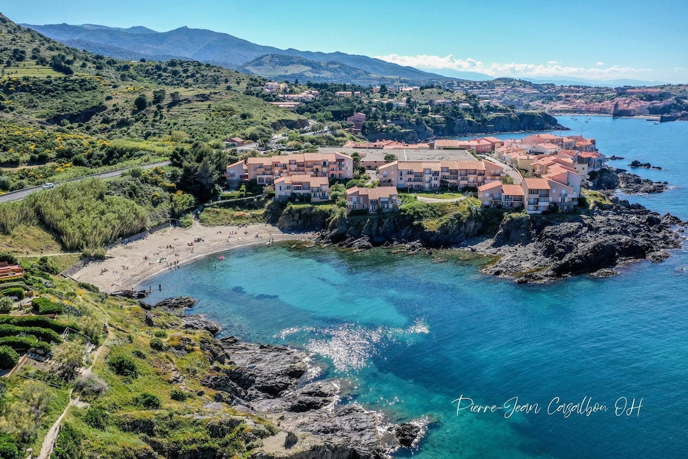 Apartment With one Bedroom in Port-vendres, With Wonderful sea View an