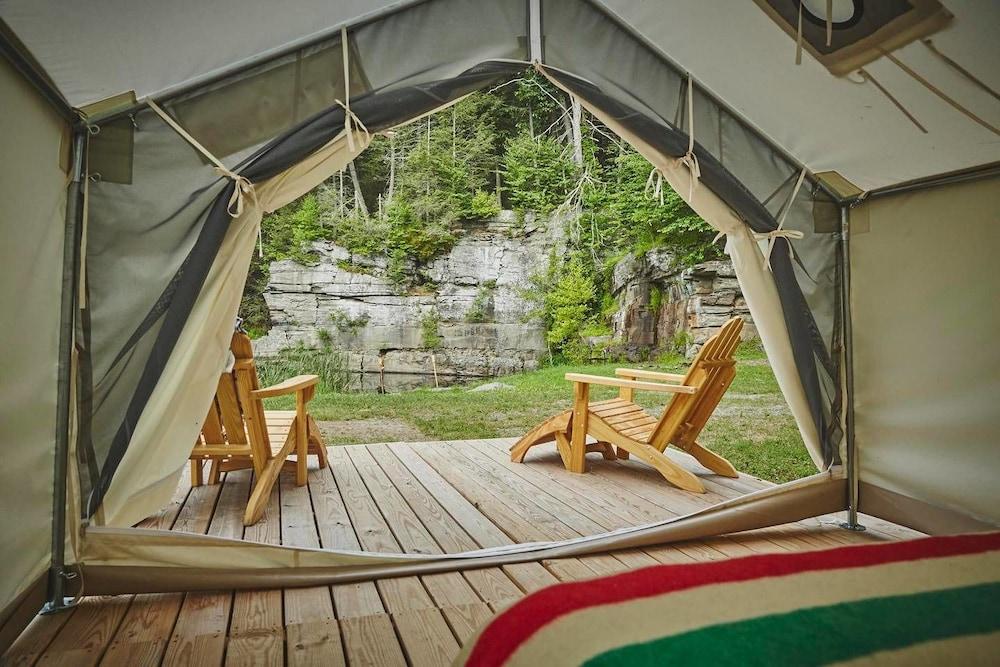 Tentrr - Quarry Pond Camp - Campsite