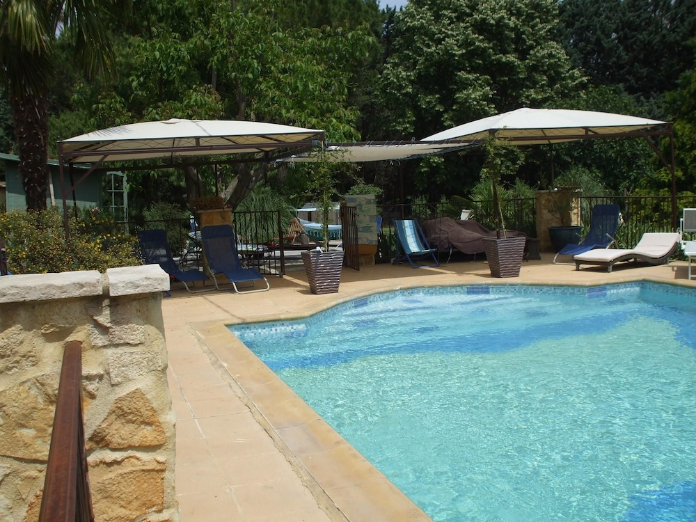 House With one Bedroom in Les Angles, With Pool Access and Enclosed Ga