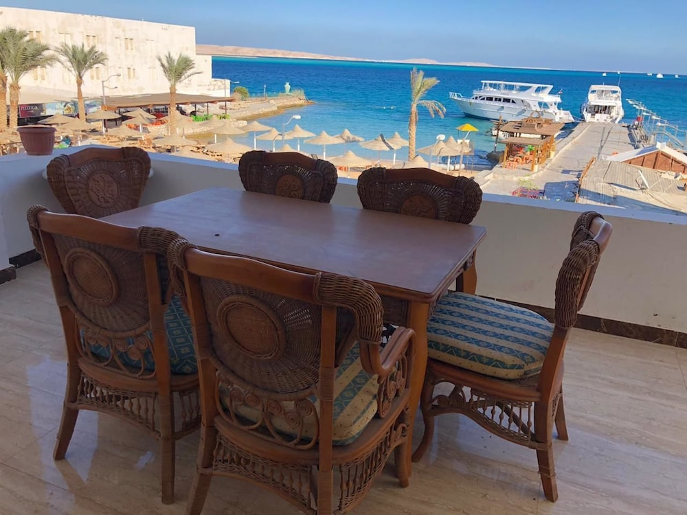 Sea view Studio at heart of Hurghada