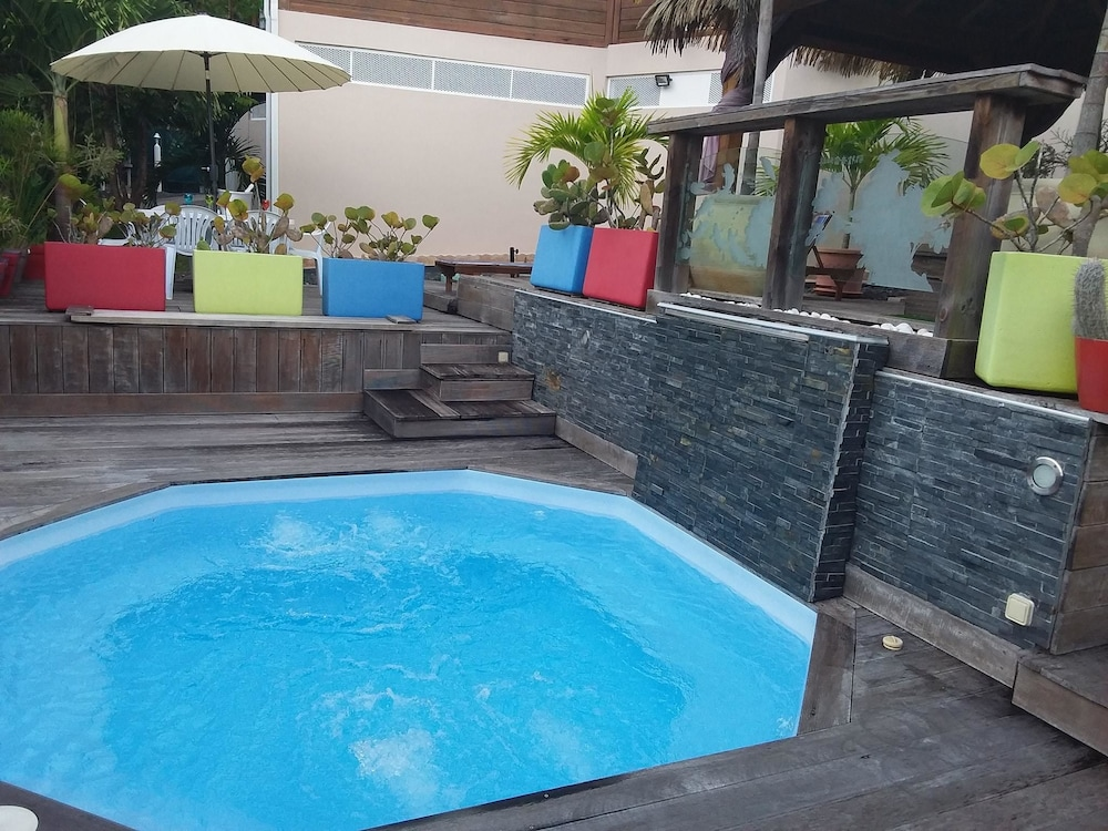 Villa With 3 Bedrooms in Sainte Anne, With Private Pool, Enclosed Gard