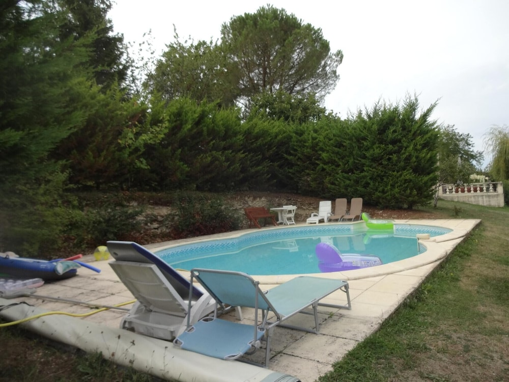 Apartment With 3 Bedrooms in Montayral, With Private Pool, Enclosed Ga