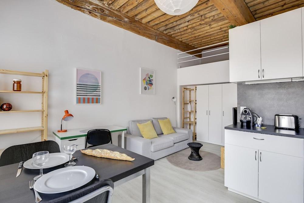 Renovated Studio in Croix-rousse