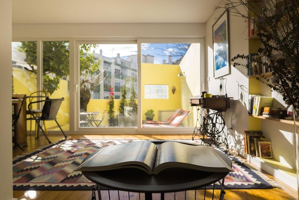 Campo Ourique Style Lisbon Apartment