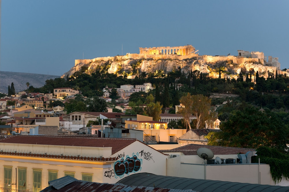 Acropolis View Luxury Apartment - Adults Only