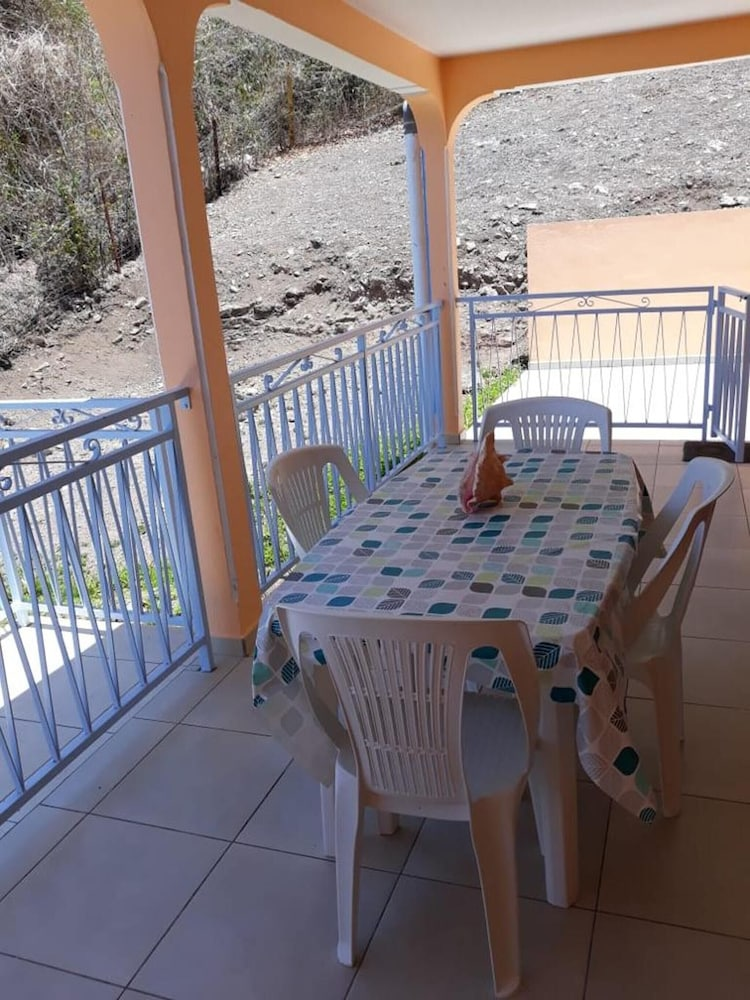 Apartment With 2 Bedrooms in Bouillante, With Wonderful sea View, Furn