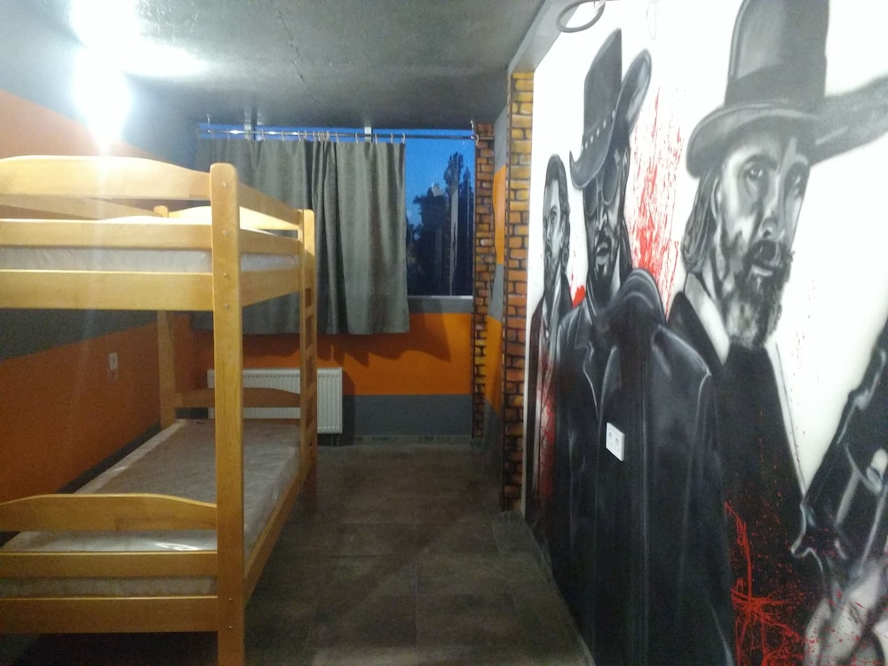 Graffiti Mega City Hostel