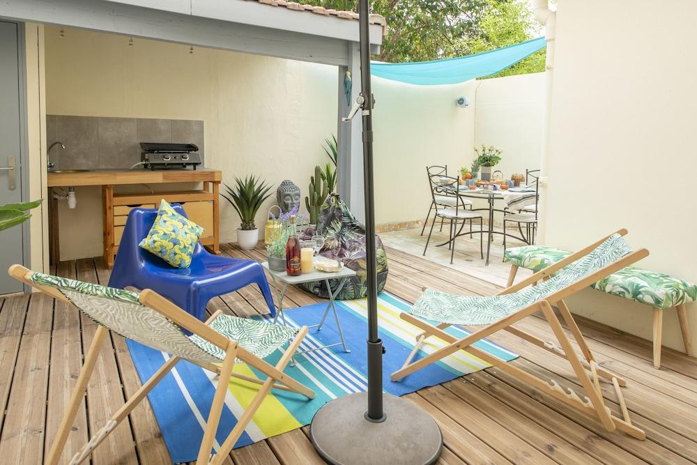 Suite Farniente Jardin Garage Clim