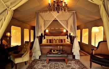 Selous Serena Camp in Selous Game Reserve