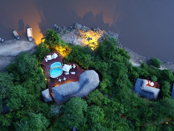 Serena Mivumo River Lodge in Selous Game Reserve