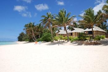 Palm Grove in Rarotonga