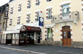 tarifs reservation hotels Brit Hotel Confort Auclair Gueret