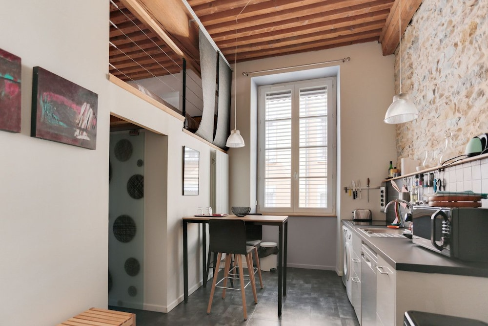 Charming Renovated Flat in the Croix Rousse Slopes