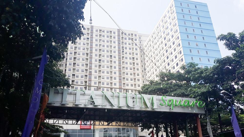City View Studio Apartment At Titanium Square Jakarta Price Address Reviews