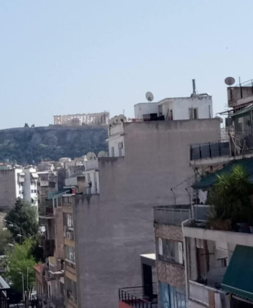 Cozy Apartment Side View of Acropolis
