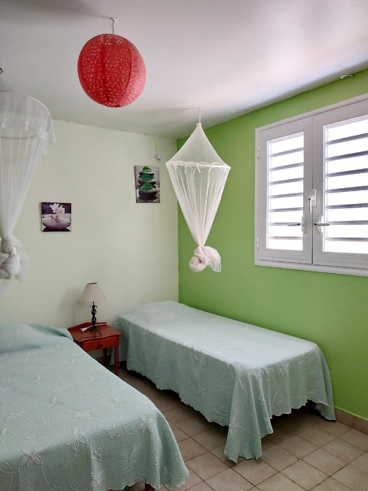 Apartment With 2 Bedrooms in Sainte-anne, With Furnished Garden and Wi