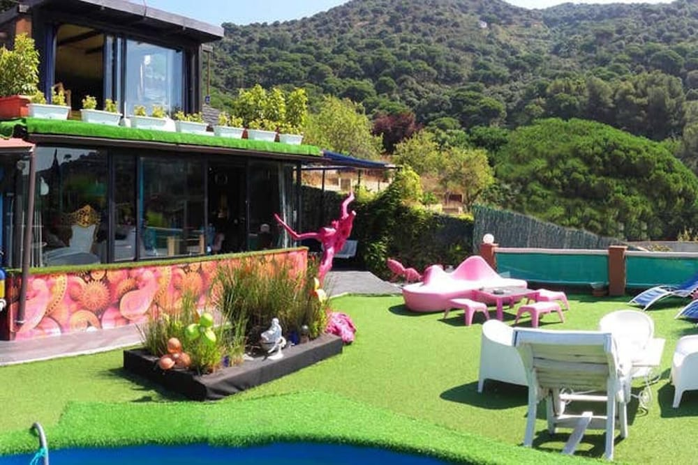 House With 3 Bedrooms in Teià, With Wonderful Mountain View, Private P