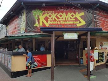 Kokomos Hotel & Restaurant Pampanga Hotel Entrance