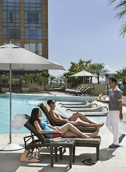 Fairmont Makati Outdoor Pool