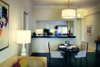 Raffles Makati Living Area