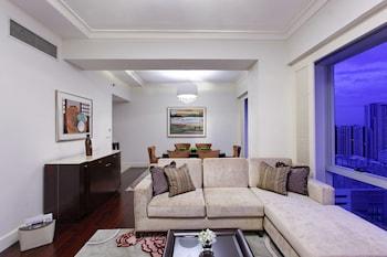 Raffles Makati Living Room