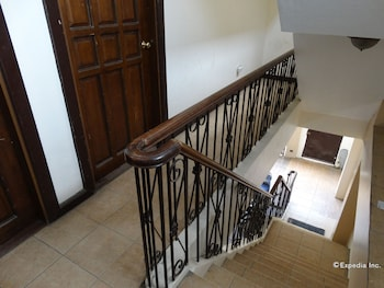 Casa Ruby Pension House Davao Staircase