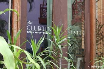 The Club Ten Beach Resort Boracay Exterior detail