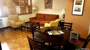 Lourdes Suites Makati Living Area