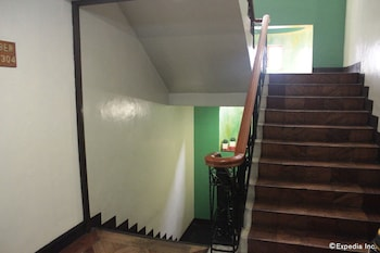 New Camelot Hotel Quezon City Staircase