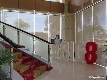 Big 8 Corporate Hotel Davao Staircase