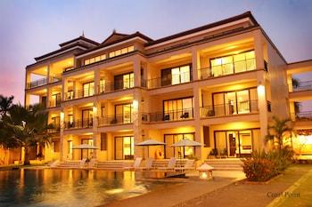 Coralpoint Gardens Cebu Hotel Front - Evening/Night