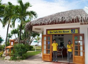Quo Vadis Dive Resort Moalboal Hotel Entrance