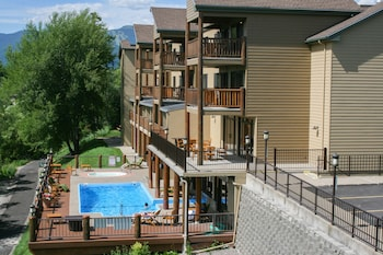 The Pine Lodge on Whitefish River in Whitefish, Montana