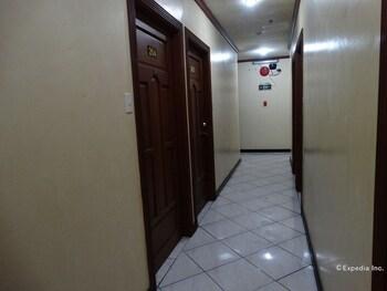 M Hotel Manila Hallway