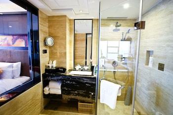 Chengdu Celebrity Upper Class Hotel - Bathroom  - #0