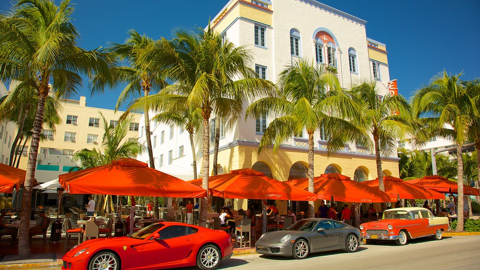 Ocean Drive South Beach Tourism Media