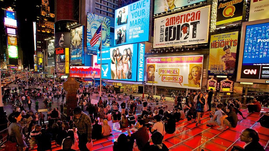 タイムズ スクエア - ニューヨーク - Tourism Media   タイムズ スクエア /